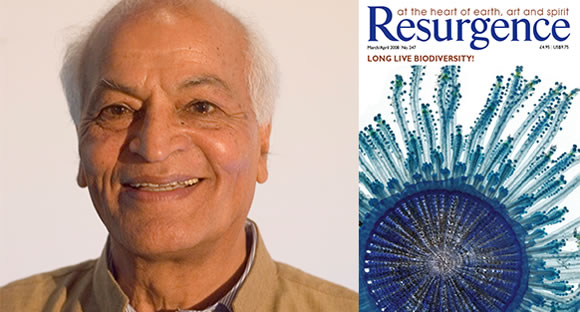 Satish Kumar, patron of Sinfield Nature Conservation Trust